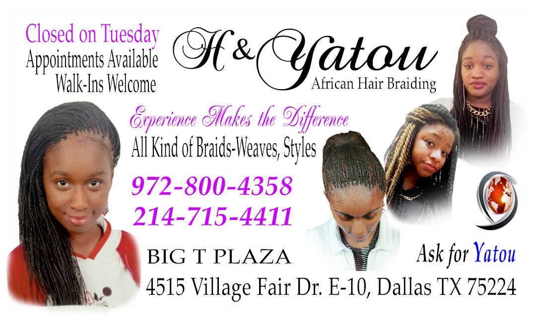 Braiding Business Cards